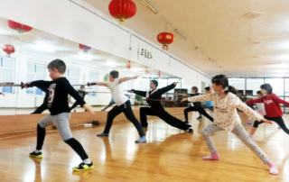 lectie demonstrativa wushu kungfu copii 1